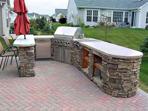 Backyard Bbq Built In Deck With Built In Bbq Reno Deck Ideas