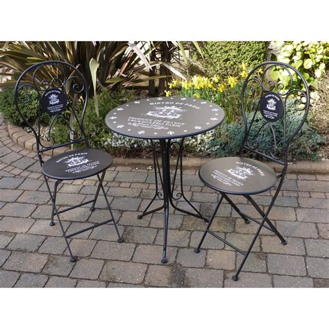 patio furniture bistro set bistro set patio furniture swanky interiors