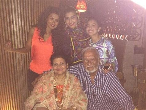 biography of mother and father gauhar khan family photos father and mother husband age