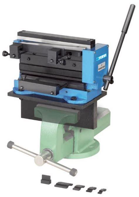 Bench Vice Stand Mini Hand Shear Brake 0892 Metal Sheet Cutting Machine