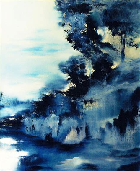blue paintings icy blue abstract painting paintings to paint