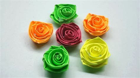 how to make quilling flowers paper quilling