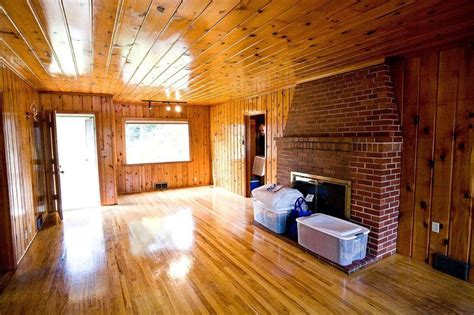 staging a pine lined 1940 s cottage