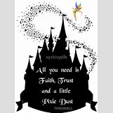 Disney Castle Silhouette With Tinkerbell | 732 x 1000 jpeg 84kB