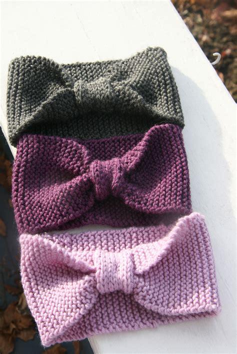 Knitting Pattern For Simple Headband | headbands head wraps also known as earwarmers