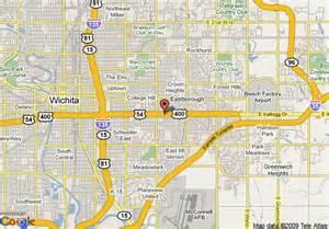 wichita map map of wichita suites hotel wichita