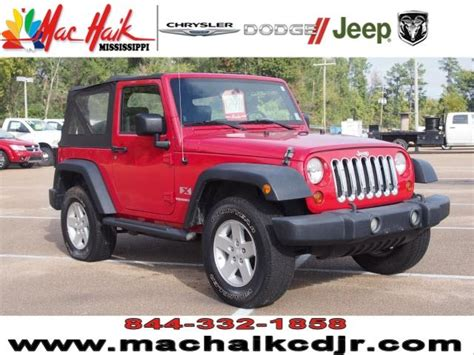 Roundtree Chrysler Dodge Jeep Ram 2009 Jeep Wrangler For Sale In Jackson Ms