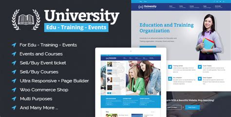 Education Event And Course Html Template Education Event And Course Html Template By