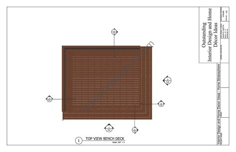 deck bench dimensions deck plan with built in benches for seating and storage