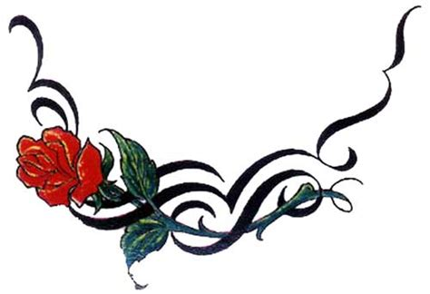 tattoo design rose tribal 26 beautiful tribal rose tattoos only tribal