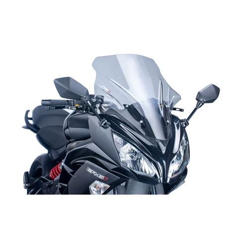 Windshield Puig Kawasaki Er6 N puig racing windscreen kawasaki 650 2012 2016 5 4 80 revzilla