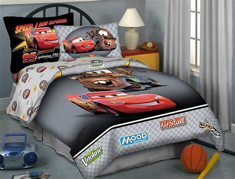 Disney Cars Bedding Set Black Buddies Comforter Sheets Full Bed