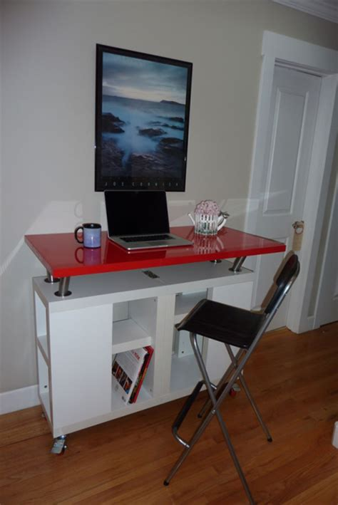 Linmon Desk by 10 Hacks Standing Desks For Your Home Office Jewelpie
