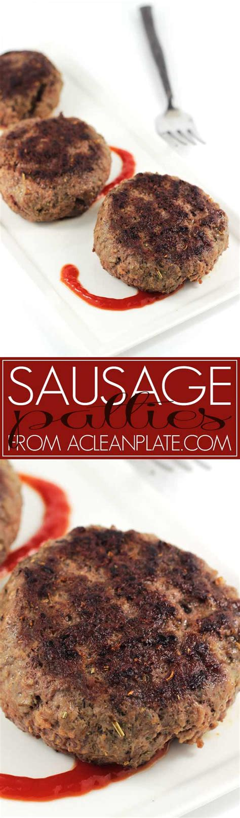 E Book Sausage Recipes For And Cooking With Sausage sausage patties a clean plate