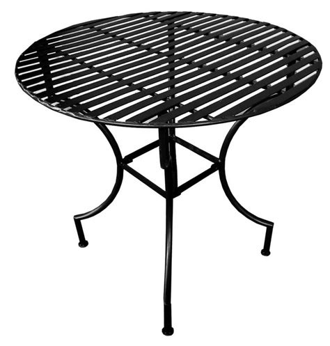 black iron outdoor table folding outdoor tables for better environment