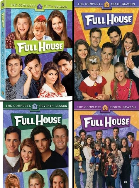 full house season 7 full house season 5 6 7 8 tv series new region 4 dvd ebay
