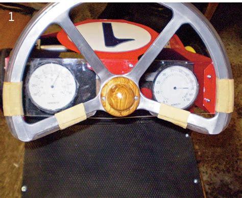 volante go kart come costruire un go kart fai da te bricoportale fai da