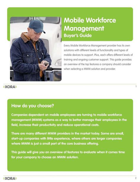 mobile workforce management solutions buyer s guide mobile workforce management solutions free