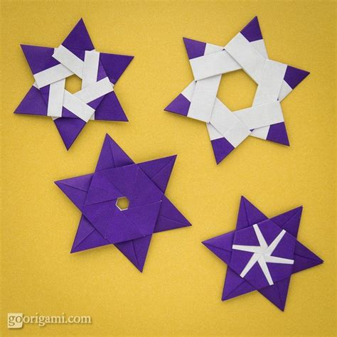 Origami Starts - 17 best images about green hanukah on menorah