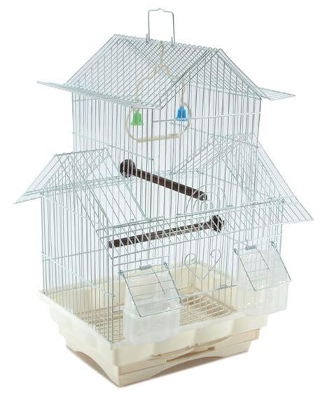 bird cage swing bird cage house style white starter kit swing perch