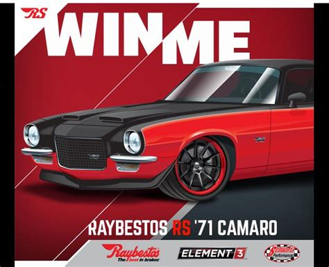 Raybestos Giveaway - raybestos garage s 1971 camaro sweepstakes open now the news wheel