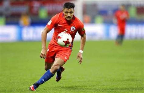 alexis sanchez history alexis sanchez makes history as chile draw with germany at