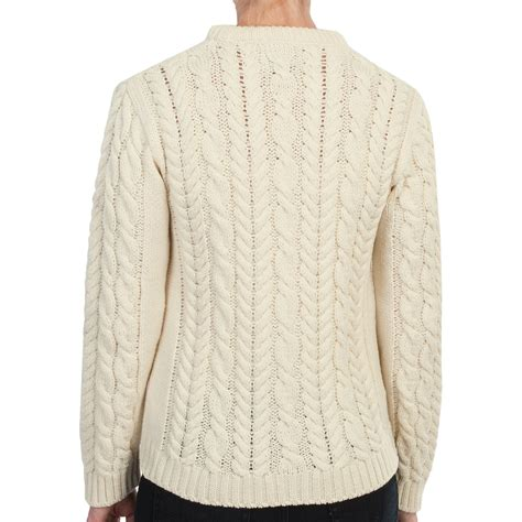 Cable Knit Sweater peregrine by j g aran cable knit sweater for