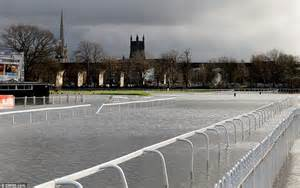 sporting worcester after the floods uk weather sees more storms and driving