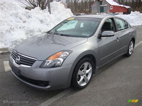 grey nissan altima 2007 2007 precision gray metallic nissan altima 3 5 se