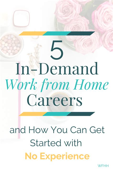 five in demand work from home professions and how you can