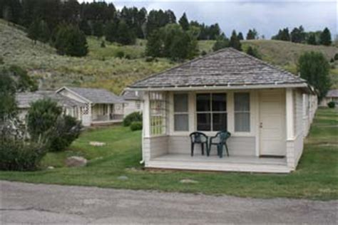 Mammoth Springs Hotel And Cabins Yellowstone National Park Wy by Yellowstone Cabins Yellowstone National Park