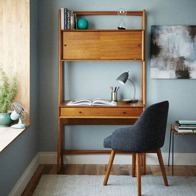 mid century wall desk elm best 25 retro office ideas on retro desk mid