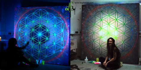 Wall Murals For Schools the flower of life bogi fabian