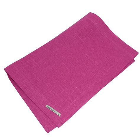 leinen tisch leinen leinen tisch set erik 37x50cm cerise pink wohntextilien