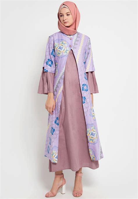 Electra Basic Efita Watercolor 5 kamnco dress muslim
