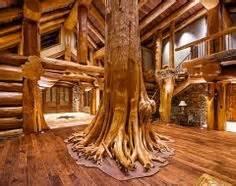 Pioneer log homes of bc custom built log post amp beam home with three