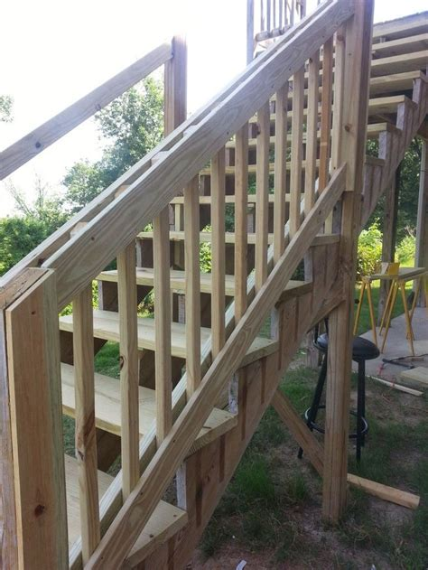 Banister Repair by 1000 Ideas About Outdoor Stair Railing On