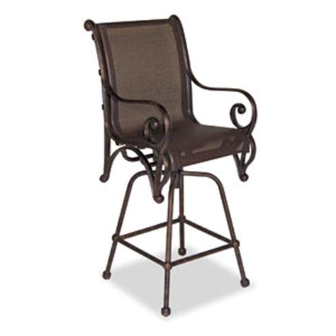 Sling Patio Bar Stools by Deauville Sling Bar Stool