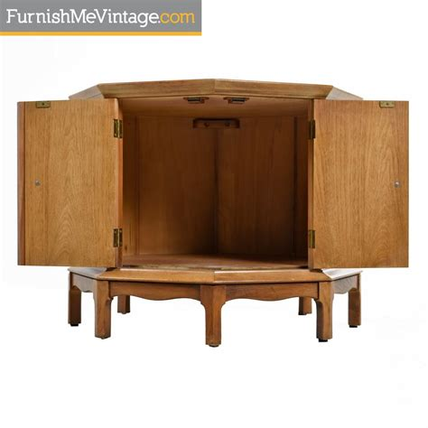 thomasville horizon commode cabinet marble top