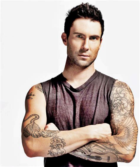 adam levine tiger tattoo chatter busy adam levine quotes