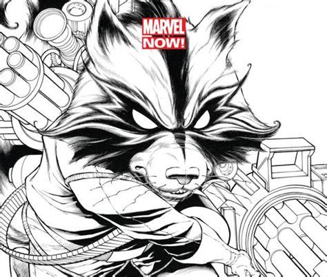 sketchbook marvel guardians of the galaxy 2013 1 quesada sketch variant