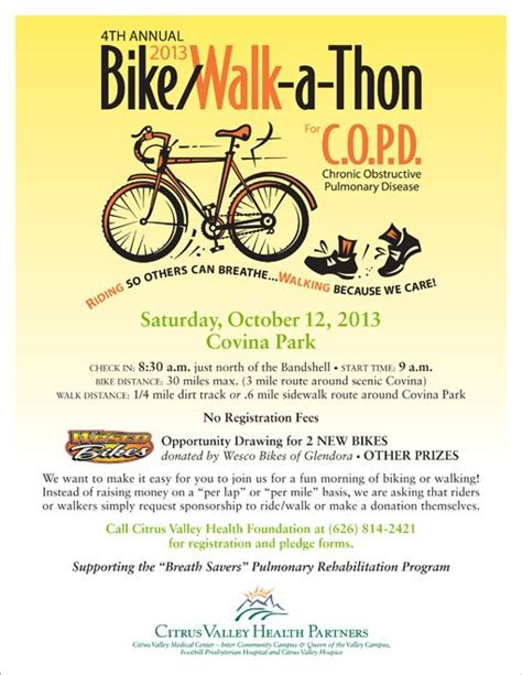 community event flyer template flyer templates for bike a thon events calendar