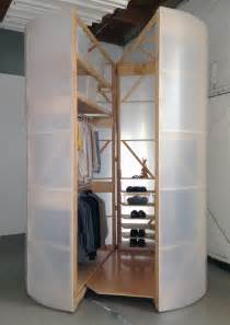 Portable Closet Tuberoom A Mobile Walk In Closet That Is Functional And