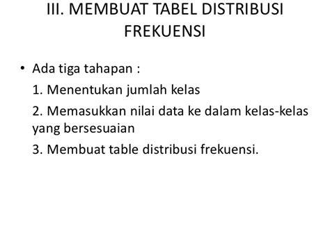 membuat tabel distribusi frekuensi berkelompok statistik sosial 4