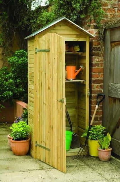 vertical storage shed