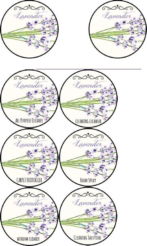 printable lavender labels printable labels lavender cleaning labels scribd com doc