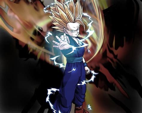 wallpaper dragon ball z gohan ssj2 gohan wallpapers wallpaper cave