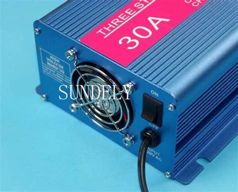 marine battery charger ebay uk fully automatic 4 stage marine battery charger 12v 30a ebay