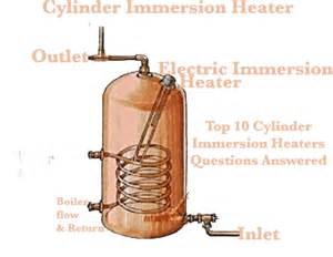 my cylinder immersion heater has stoppers working what can