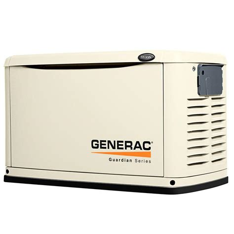 generac 11 000 watt air cooled automatic standby generator